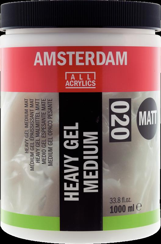Amsterdam Heavy Gel Medium Mat Pot 1000 ml