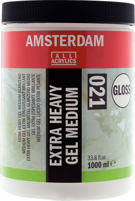 Amsterdam Extra Heavy Gel Medium Glanzend Pot 1000 ml