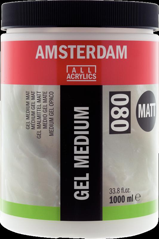 Amsterdam Gel Medium Mat Pot 1000 ml