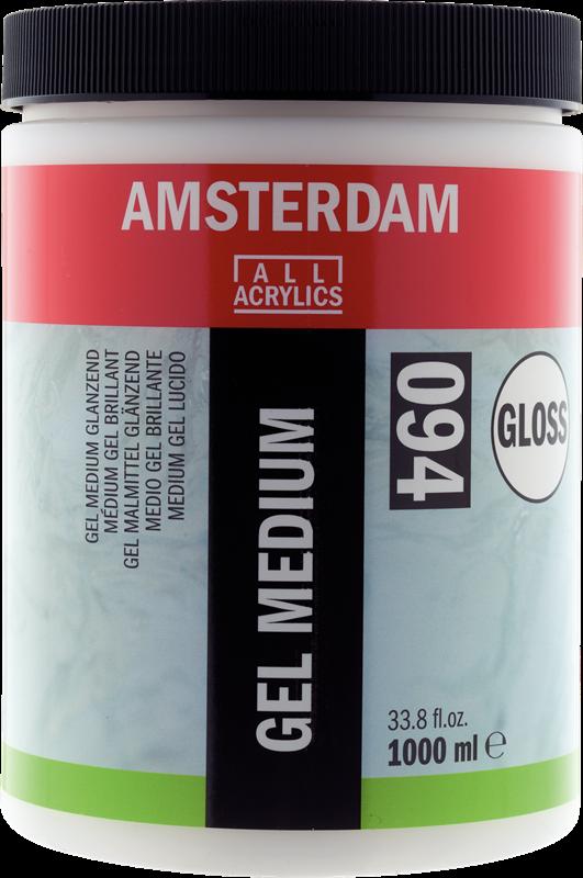 Amsterdam Gel Medium Glanzend Pot 1000 ml