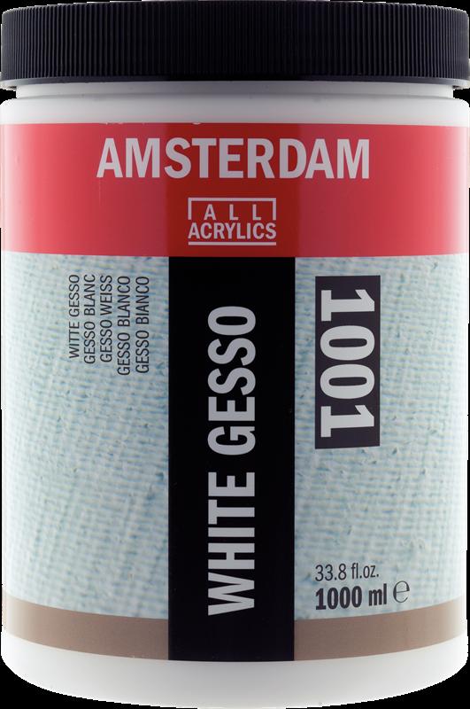 Amsterdam Wit Gesso Pot 1000 ml