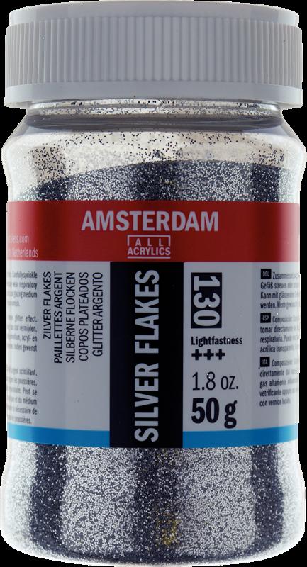 Amsterdam Flocons argent Pot 50g