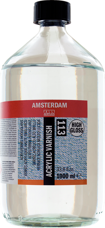 Amsterdam Acrylvernis Hoogglans Flacon 1000 ml