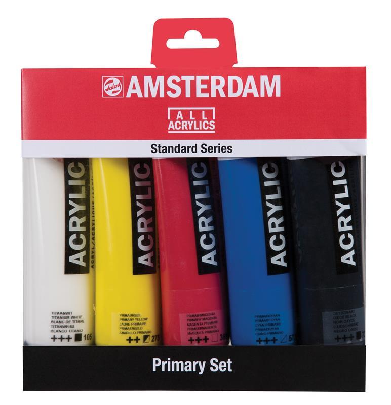 Amsterdam Standard Series Acrylics Primair - 5 x 120 ml