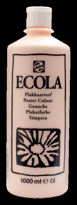 Ecola Plakkaatverf Flacon 1000 ml Vleeskleur 374