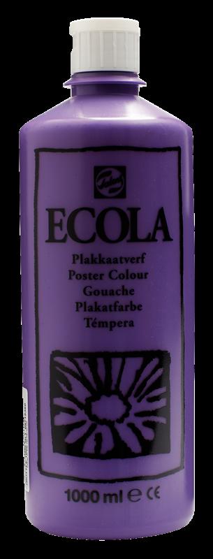 Ecola Plakkaatverf Flacon 1000 ml Violet 536