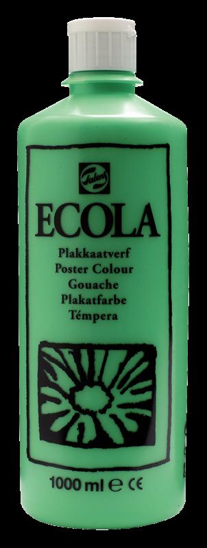 Ecola Plakkaatverf Flacon 1000 ml Lichtgroen 601