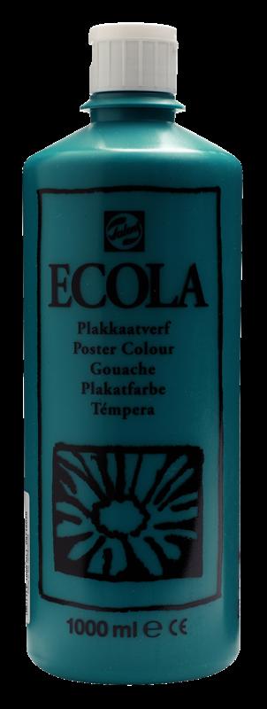 Ecola Plakkaatverf Flacon 1000 ml Donkergroen 602