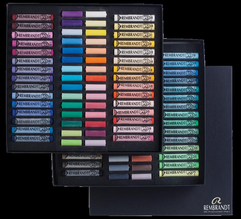 Rembrandt Softpastels algemene selectie Master set 300C60/60.5