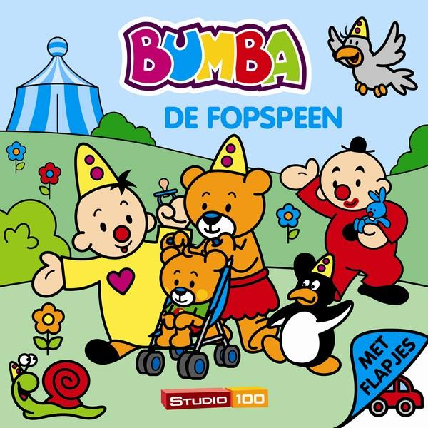 BUMBA  kartonboek - de fopspeen / met flapjes