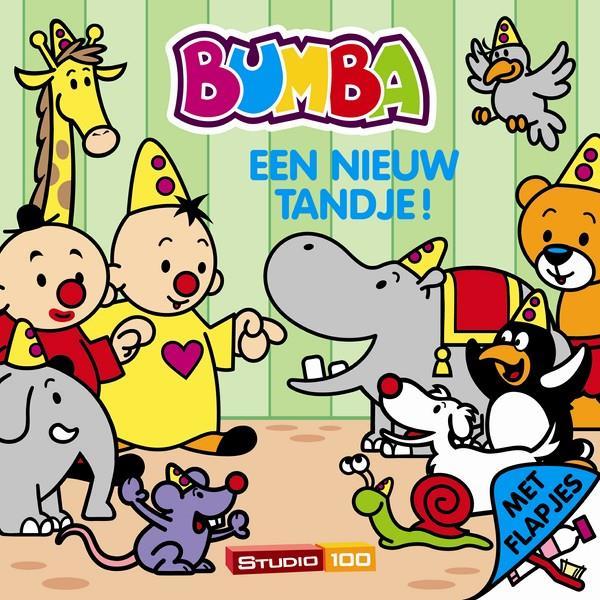BUMBA  kartonboek - een nieuw tandje / met flapjes