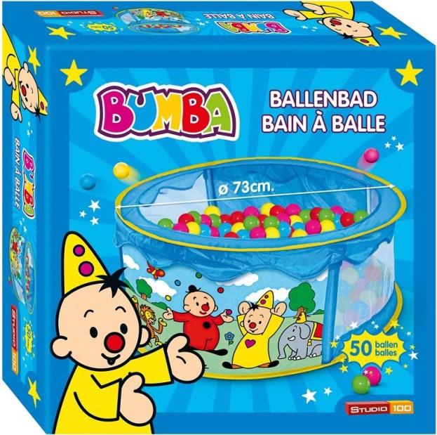 BUMBA: BAIN À BALLES AVEC 50 BALLES, Ø 73CM