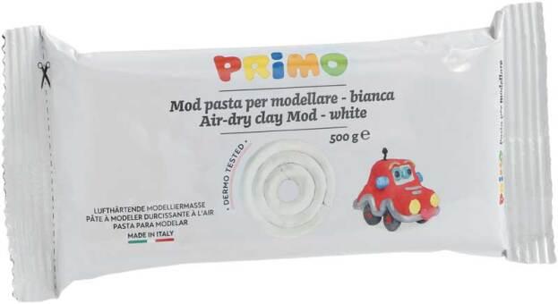 PRIMO Boetseerklei 500gr wit, luchtdrogend
